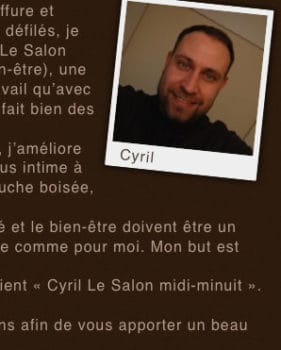 Cyril Le Salon midi-minuit - Extrait 1