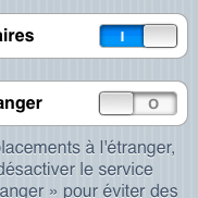 iOS checkbox